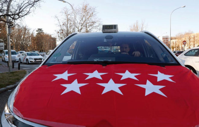 Huelga de taxis  El  pelotazo  de los taxistas con las licencias VTC ... 0c9247e638b0d