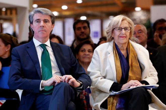 l presidente de la Comunidad de Madrid, Ángel Garrido, y la alcaldesa...