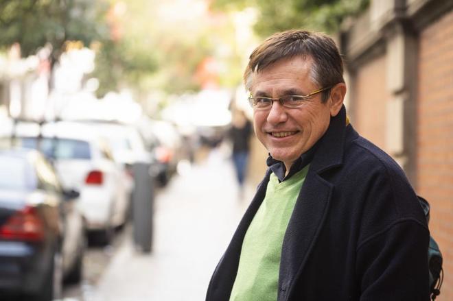 El escritor Felix Ovejero.