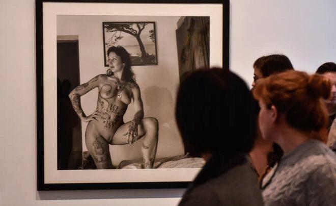 Obra de Alberto García-Alix que se incluye en la exposición 'Faces'.