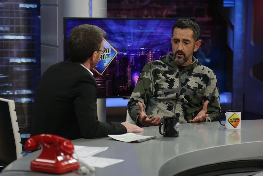 Pablo Motos y el doctor Pedro Cavadas en El Hormiguero