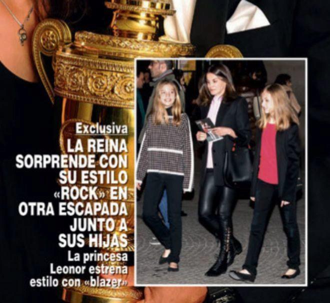 La Reina Letizia, la Princesa Leonor y la Infanta Sofía han vuelto a...