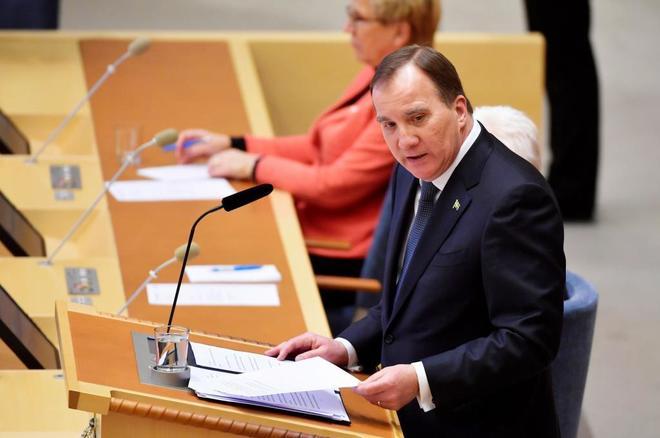 El primer ministro sueco Stefan Lofven