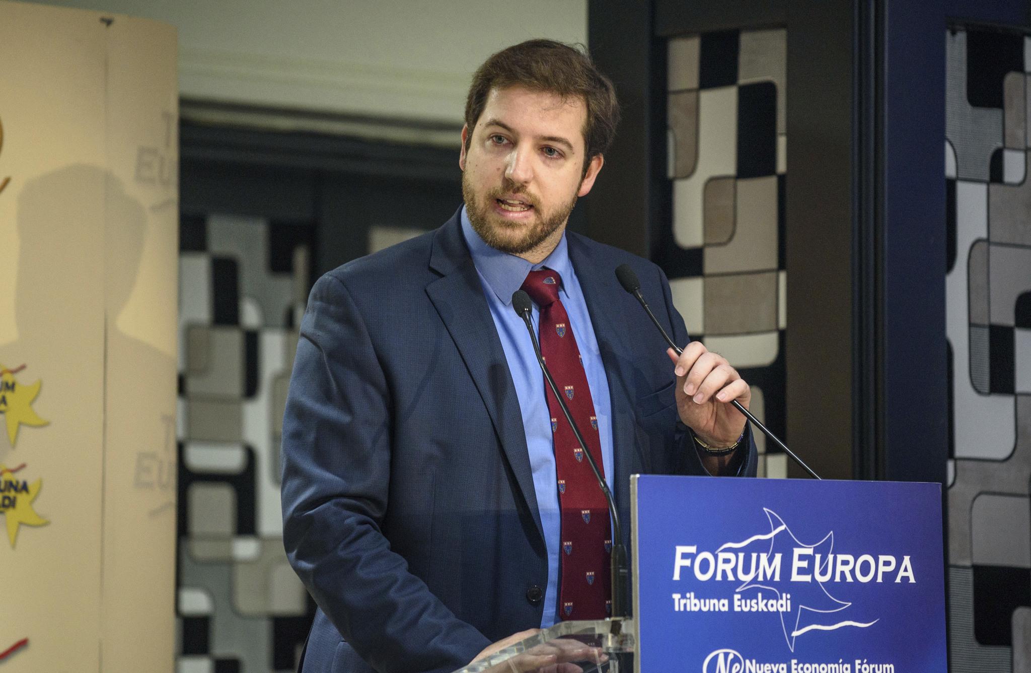 El responsable de Ciudadanos en Euskadi, Luis Gordillo.