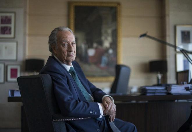 El empresario Juan Miguel Villar Mir, en una imagen tomada en abril de 2018.