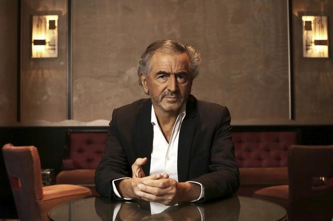 Bernard-Henri Lèvy, hoy en Madrid.