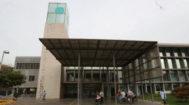 La fachada del Hospital Provincial de Castellón.
