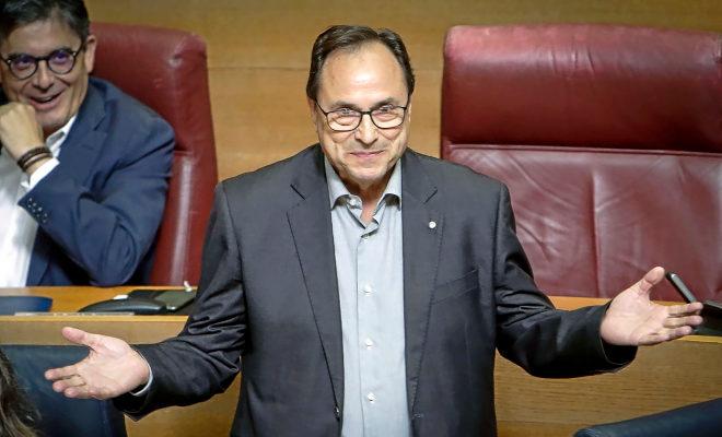 El conseller de Hacienda, Vicent Soler.