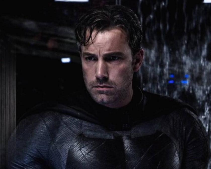 El actor Ben Affleck, caracterizado como Batman