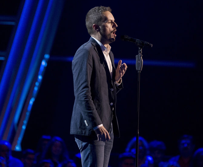 Ángel Cortés canta Una furtiva lágrima en las Audiciones a Ciegas