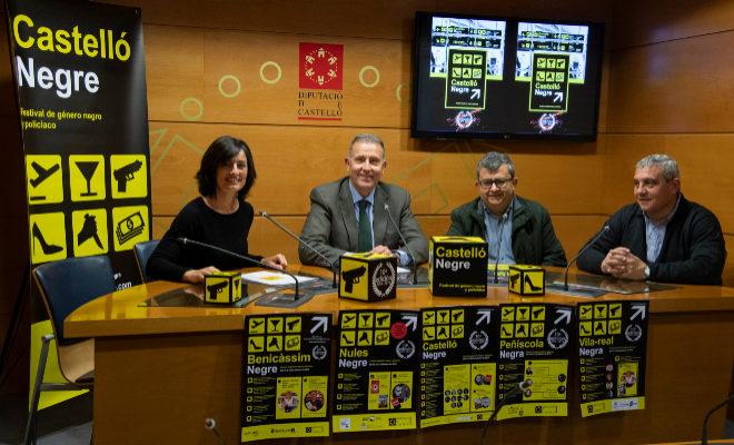 Presentación, este jueves, en la Diputación de Castellón.