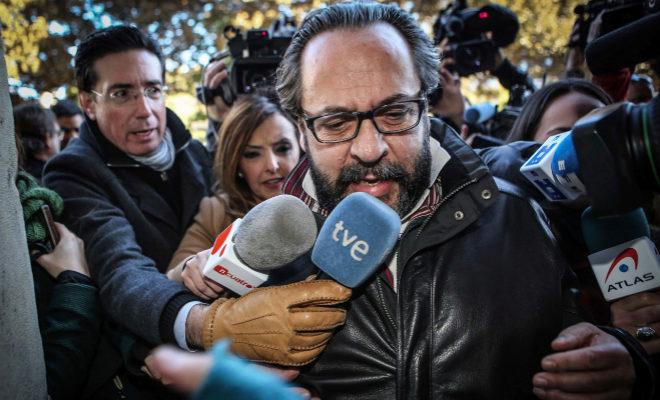 Álvaro Péerz 'El Bigotes' en una imagen de archivo en el Tribunal Superior de Justicia valenciano.