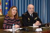 La delegada del Gobierno en Castilla y León, Virginia Barcones,...