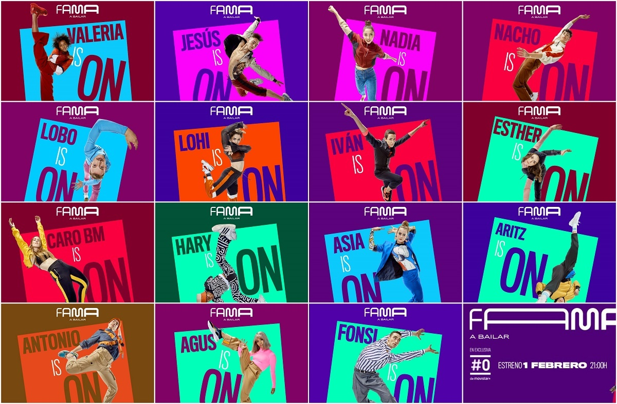 Ya conocemos los rostros de 15 de los 16 participantes de Fama a bailar 2019
