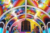 Así es la capilla de la Iglesia Internacional del Cannabis.