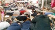 Imagen de las detenciones de la 'operación Wall'.