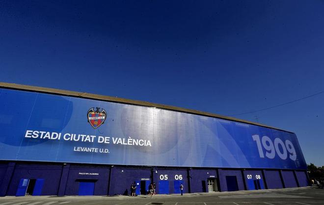 Imagen de archivo del estadio Ciutat de Valencia, hogar del Levante UD.