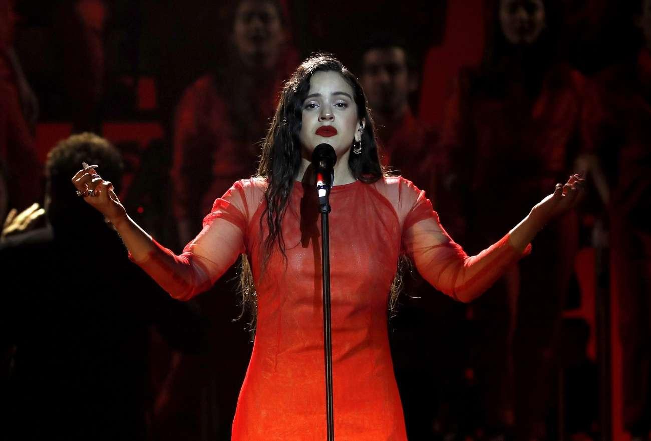 La cantante catalana ha versionado Me quedo contigo, un tema de Los...