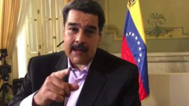 Imagen de Maduro, orgulloso y contento, durante la promoción de su entrevista con Jordi Évole en la que hacía un llamamiento a los españoles para que viesen 'Salvados'.