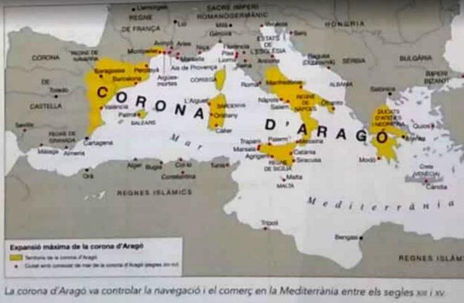 LA MANIPULACION HISTORICA DE LOS LIBROS ESCOLARES LLEGA A LA COMUNIDAD VALENCIANA