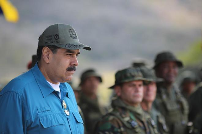 Nicolás Maduro, durante un acto celebrado en Turiamo (Venezuela).