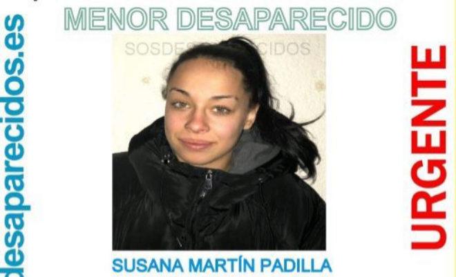 Susana Martín Padilla, la menor desaparecida este sábado en León.
