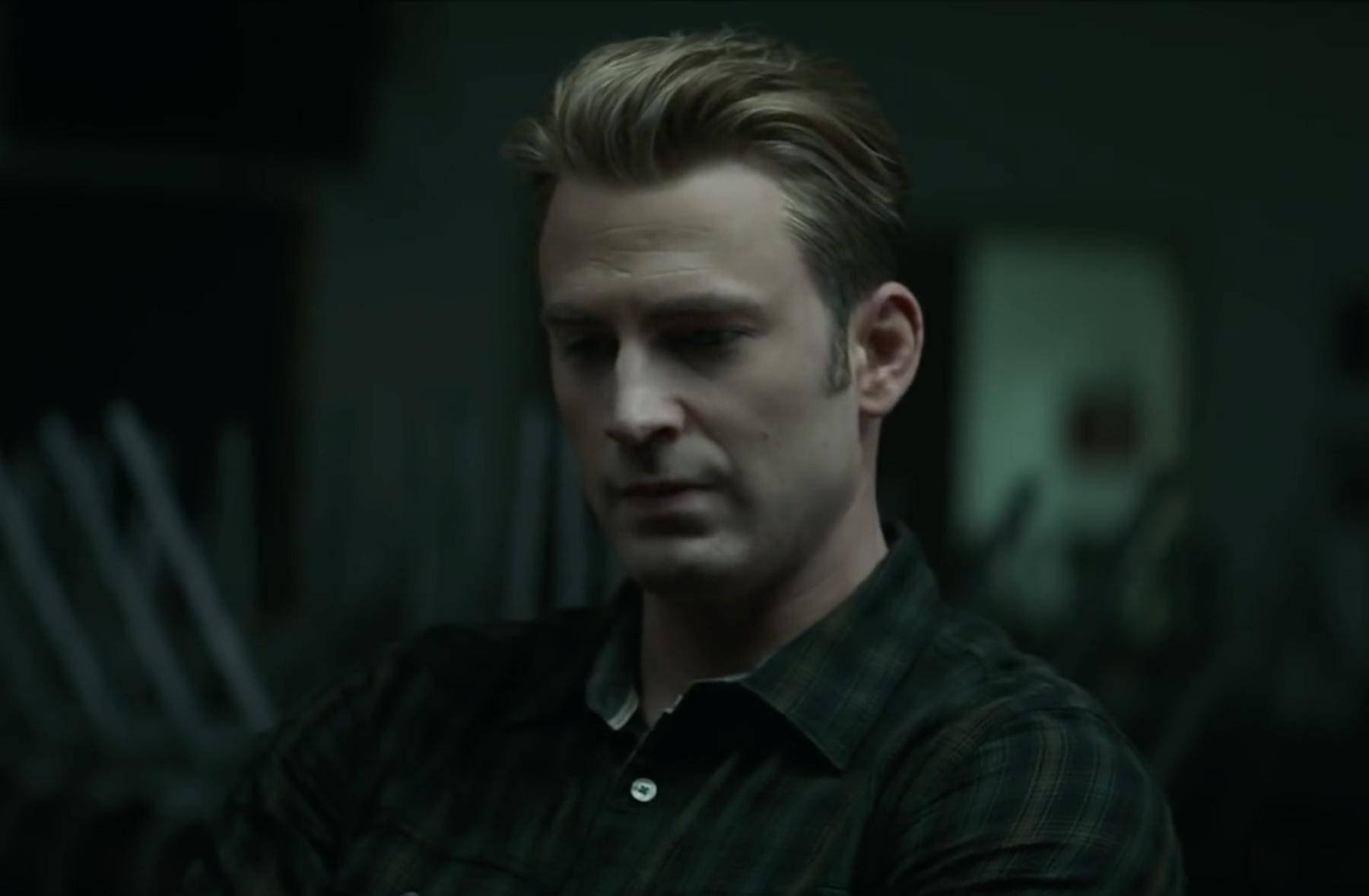 Chris Evans, que interpreta al Capitán América en Vengadores:...