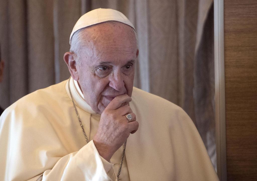 El Papa Francisco,durante su visita estos días a Emiratos Árabes Unidos.