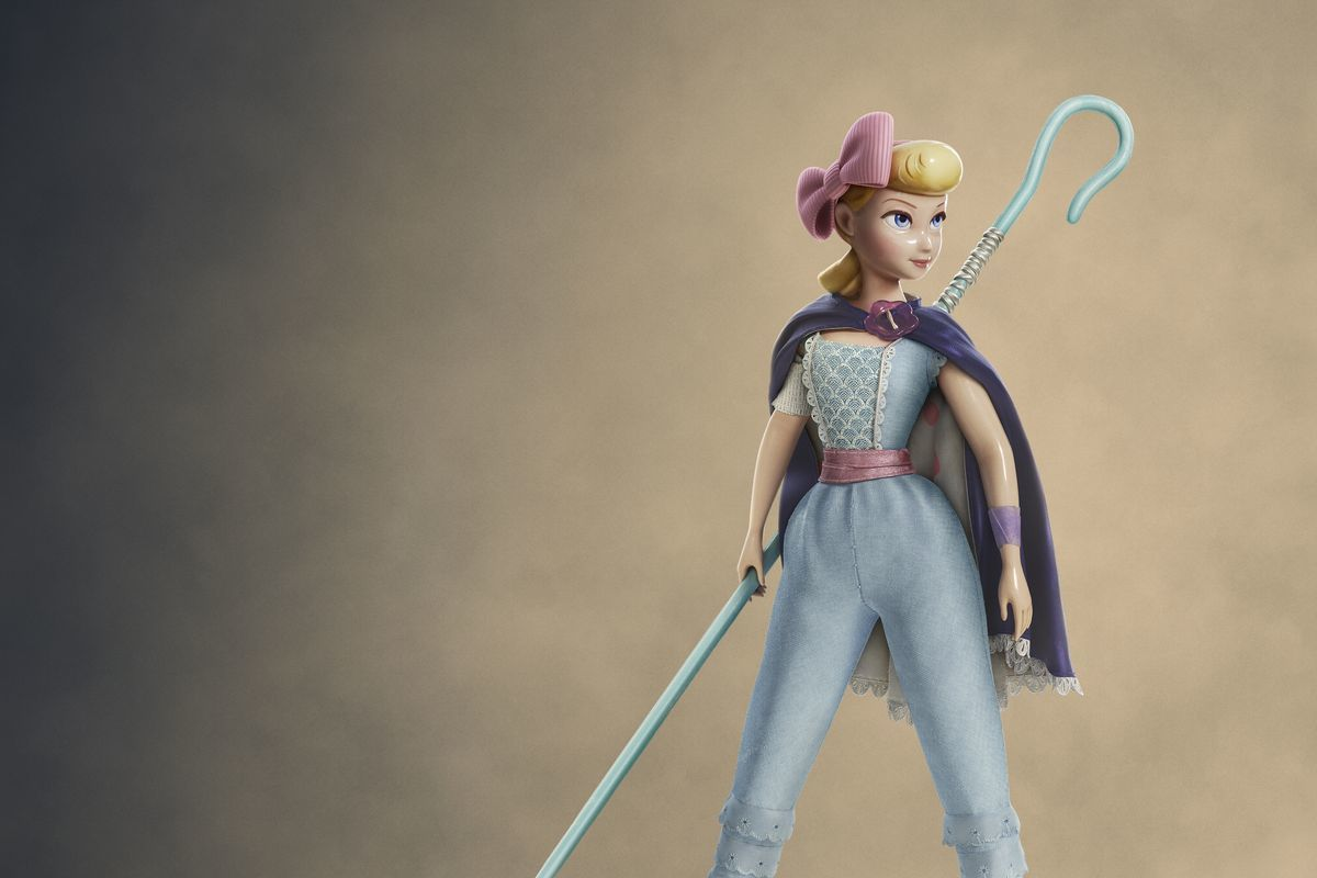 Betty no se deshace de su bastón en Toy Story 4