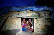 Foto de archivo de una de las 'chozas de menstruación' nepalí.