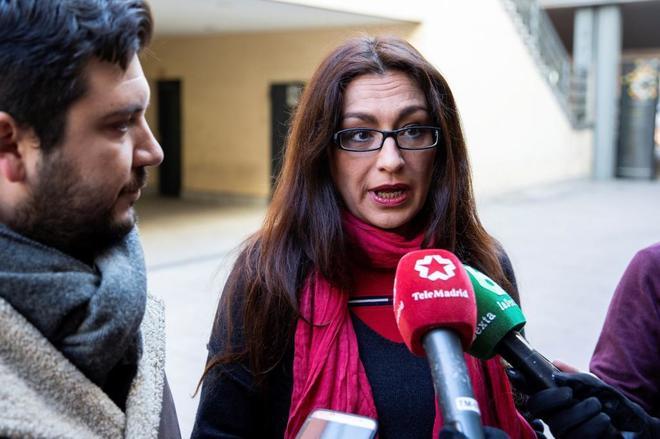 Sol Sánchez, portavoz de IU en Madrid.