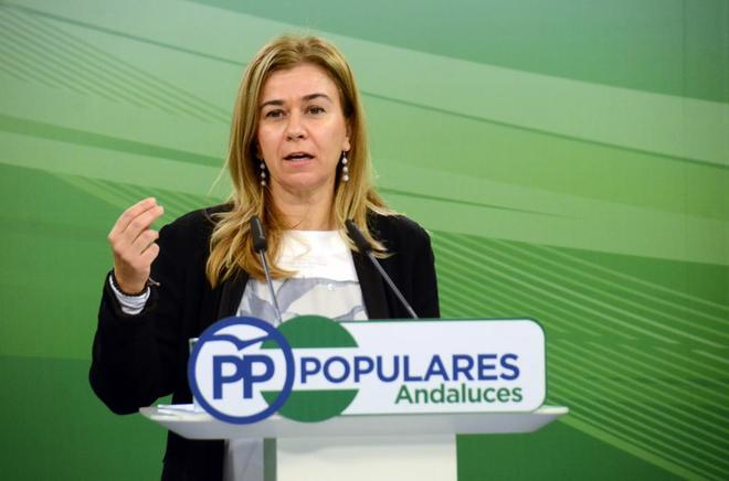 La ex parlamentaria del PP y futura senadora Teresa Ruiz-Sillero.