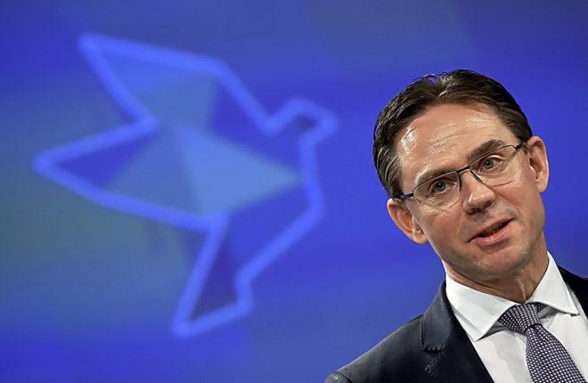 Jyrki Katainen, vicepresidente de la Comisión Europea y ex primer ministro finlandés
