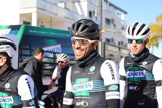 Contador, en la presentación del equipo, este lunes.