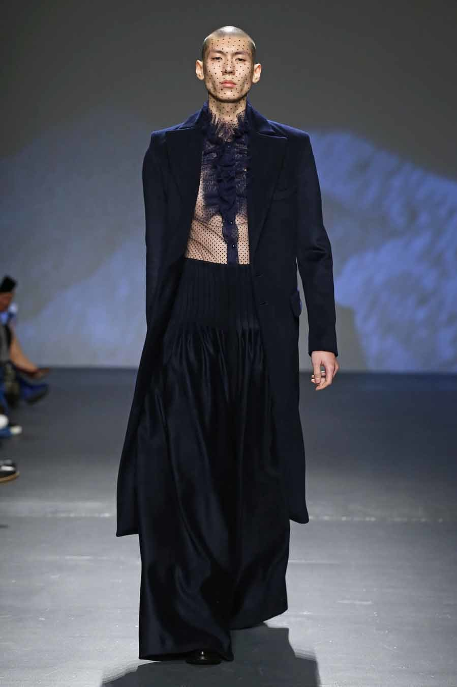 Desfile de Palomo Spain- Semana de la Moda Masculina de Nueva York -...