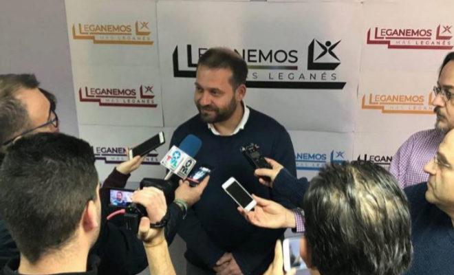 El candidato de Leganemos a las elecciones municipales de Leganés, Fran Muñoz.