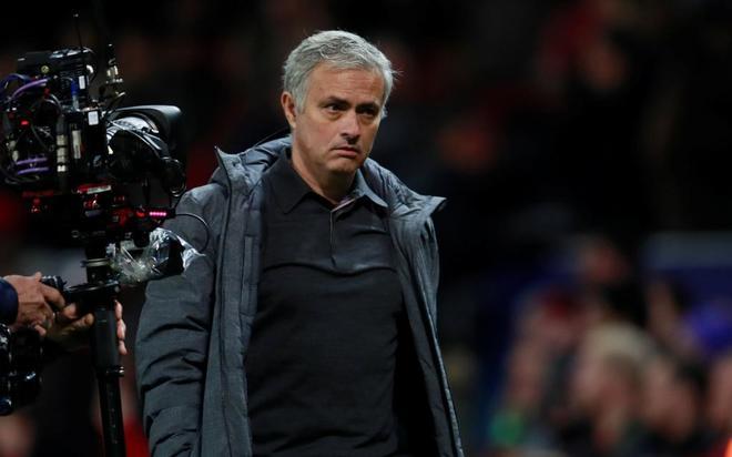 José Mourinho, durante su etapa como entrenador del Mancheter United.