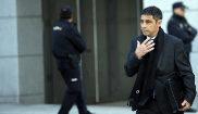 El ex mayor de los Mossos, Josep Lluís Trapero, en la Audiencia...