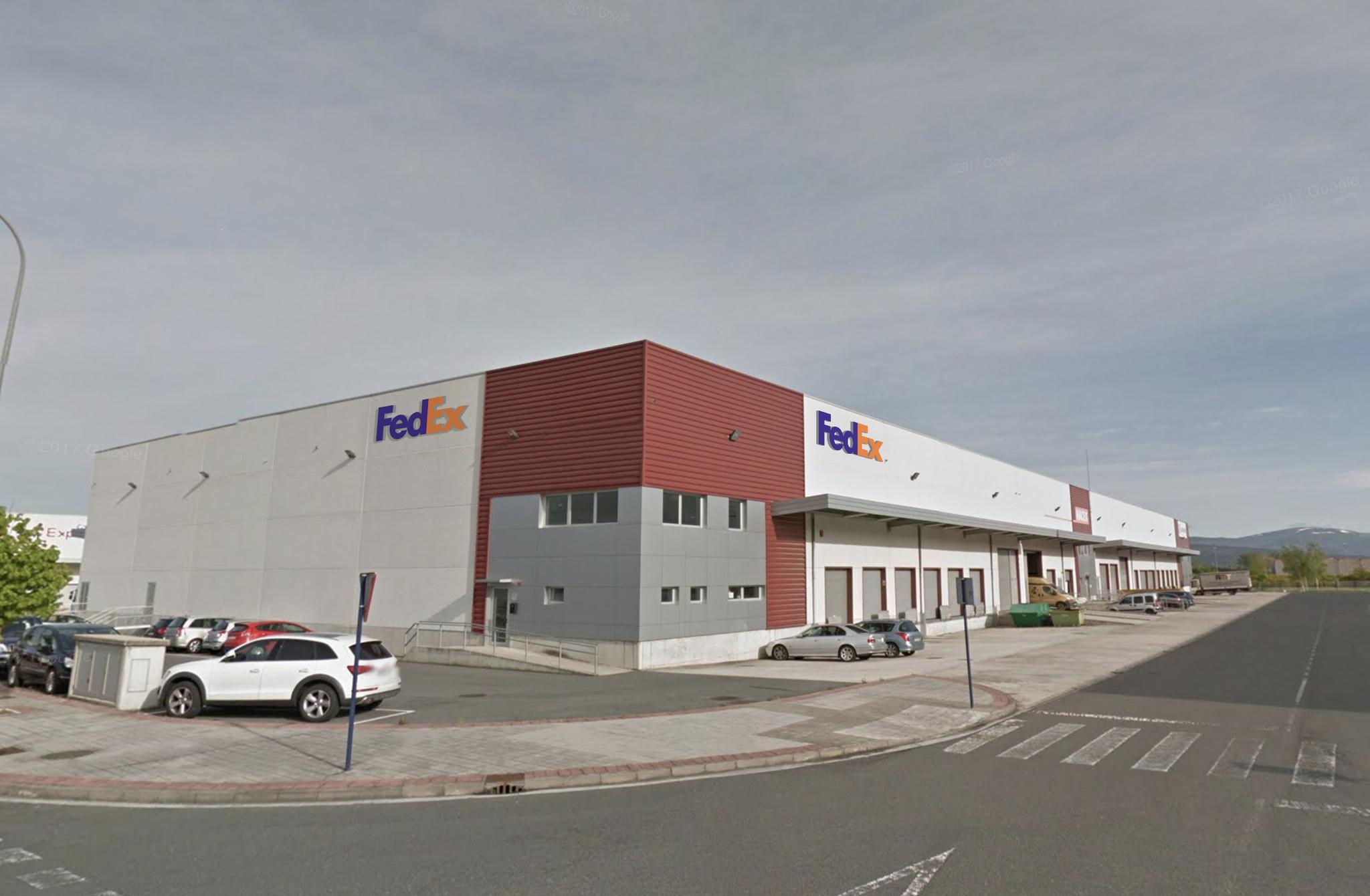 Nuevas instalaciones de FedEx en el polígono de Jundiz.