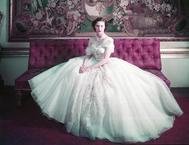 El vestido de Dior a medida para la princesa Margarita por su 21 cumpleaños.