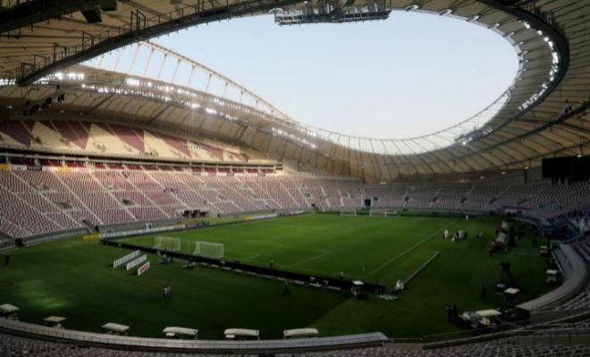 Vista del Khalifa International Stadium de Doha, en mayo de 2017.