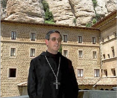 El abad de Montserrat, Josep María Soler, en una imagen de 2000, año en que se revelaron los abusos