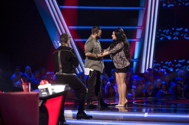 Pablo López, Antonio Orozco y Lydia Ruiz en La Voz de Antena 3