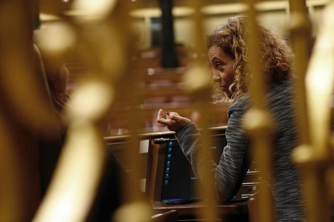 La ministra de Administración Pública, Meritxel Batet, en el Congreso de los Diputados.
