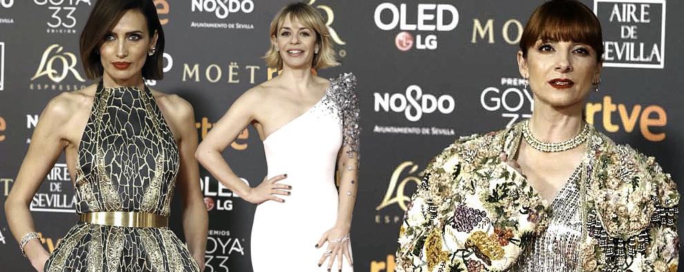 ¿Recuerdas las mejor vestidas de los Premios Goya 2019?