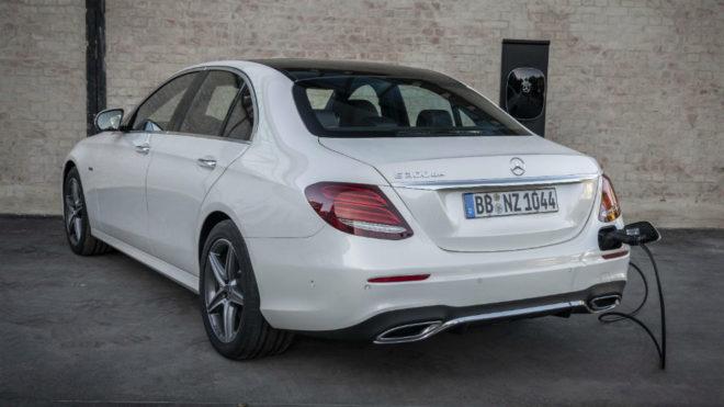 Mercedes Clase E 300 de: el segundo híbrido enchufable diésel de Mercedes