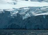 Un glaciar de la Antártida