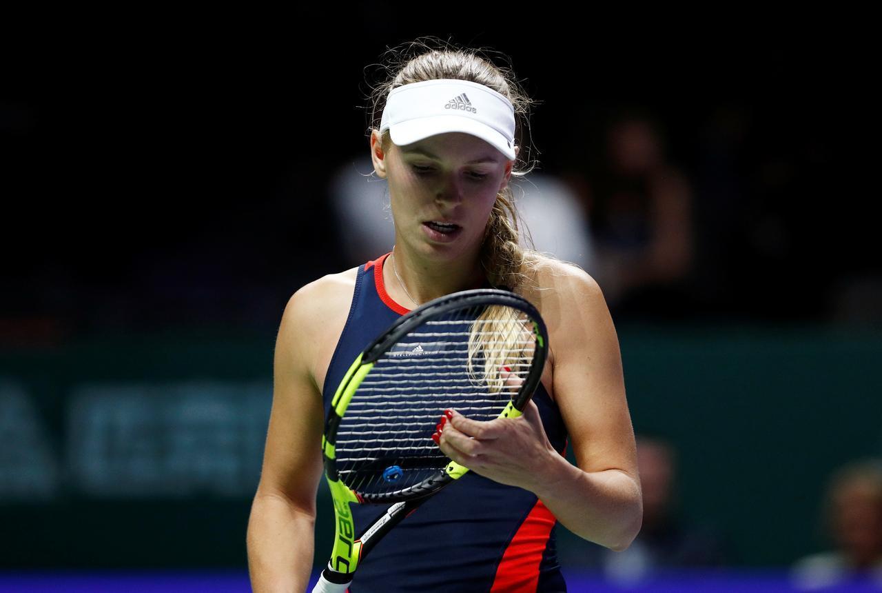 """La rara enfermedad de Wozniacki: """"No sabemos cuánto tiempo podrá seguir jugando"""""""