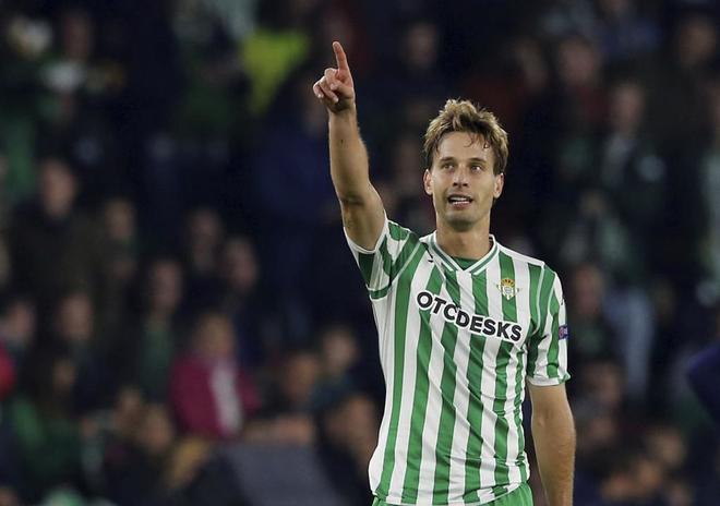 Sergio Canales, durante un partido reciente.