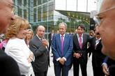 Esperanza Aguirre y el empresario Juan Miguel Villar Mir (en el...